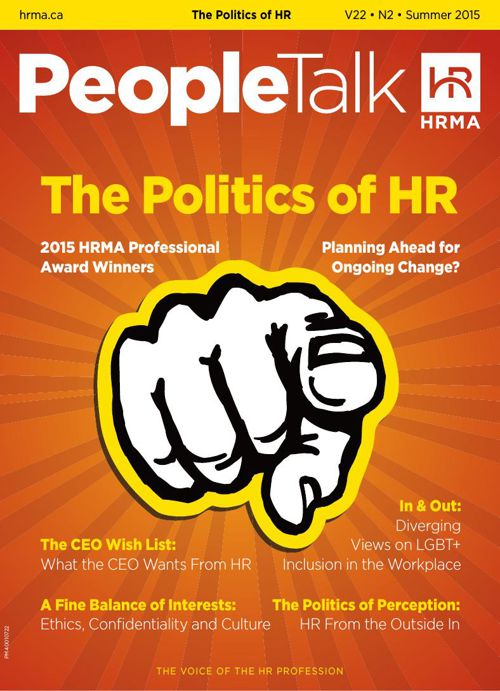 PeopleTalk, Summer 2015—The Politics of HR