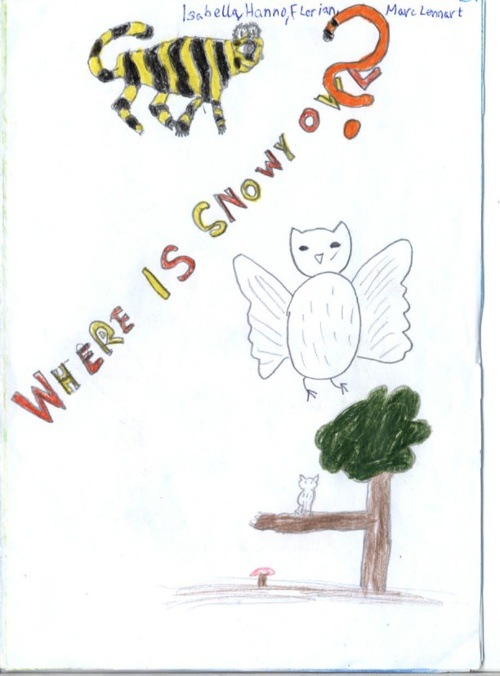 Snowy Owl -einzeln-