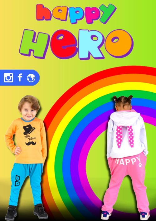 Happy Hero Kids Clothing Product Catalogue