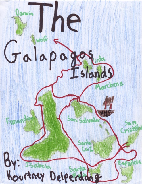 Kourtney Delperdang's Galapagos Islands Ebook