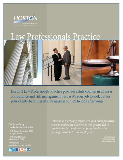 Horton Law Practice Brochure