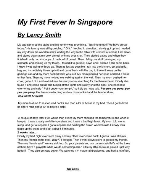 LencysIndependentWritingProject