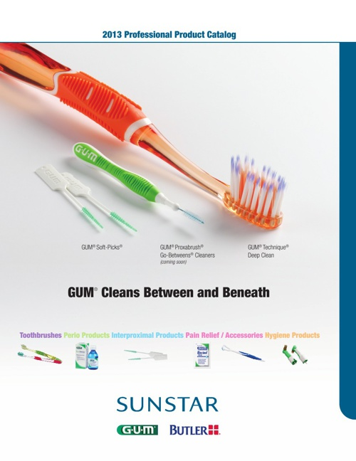 2013 U.S. Professional Sunstar Catalog - Oral Care Products