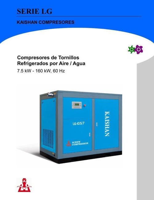 Catálogo LG-Compressor De Tornillo KAISHAN