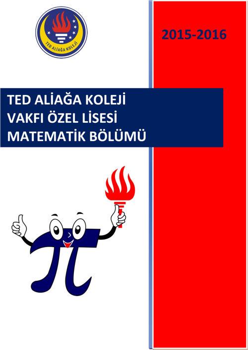 MATEMATİK BÖLÜMÜ 2015-2016
