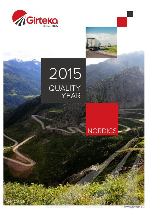 Girteka Logistics. Quality year.