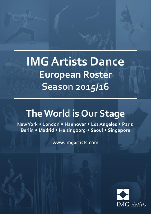 IMG Artists - European Dance Roster - Season 2015/16