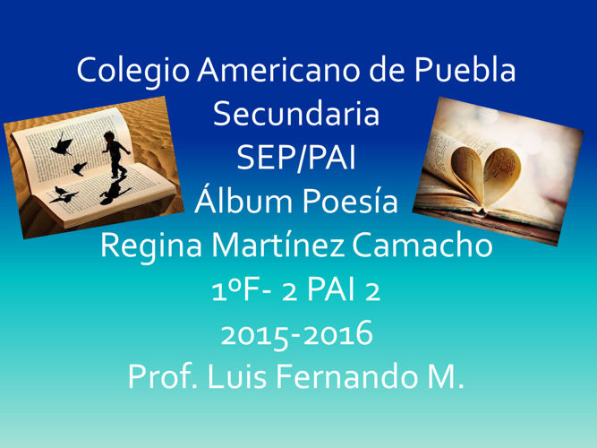 álbum de español