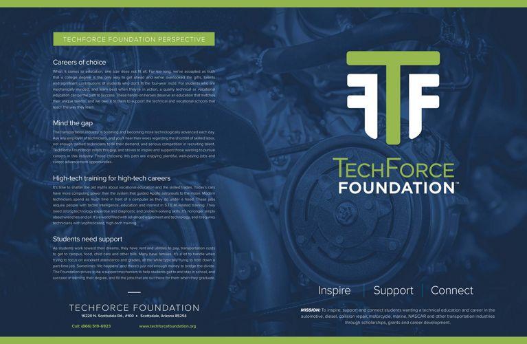 TechForce Foundation Scholarship & Grant Platforms
