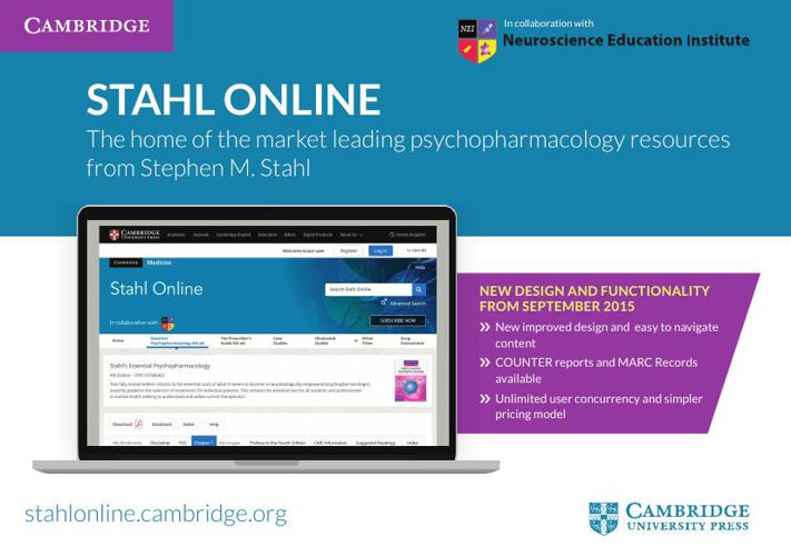 Stahl Online leaflet for librarians