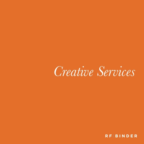 Copy of RF Binder Creative Services