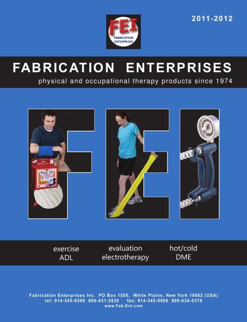 Fabrication Enterprises Catalog - 2012