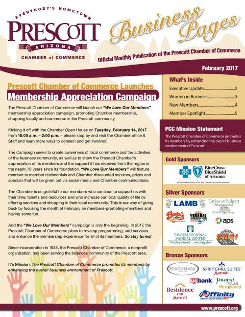 Prescott Chamber Newsletter 2-1-17