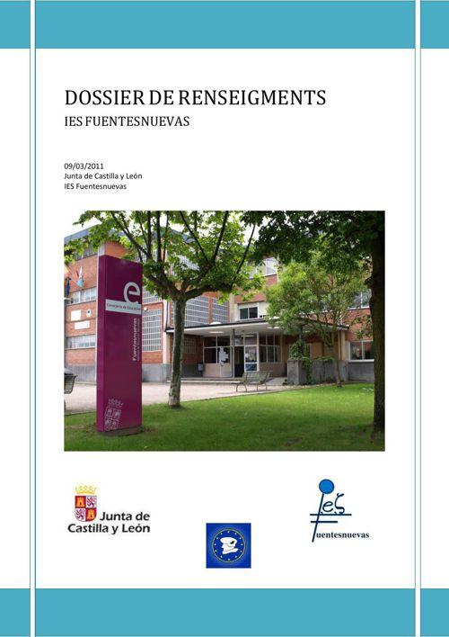 2011 DOSSIER FORMACIÓN PROFESIONAL VERSIÓN FRANCESA