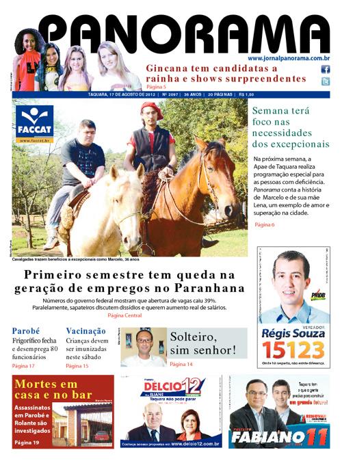 Panorama 17/08/2012 - Taquara/RS