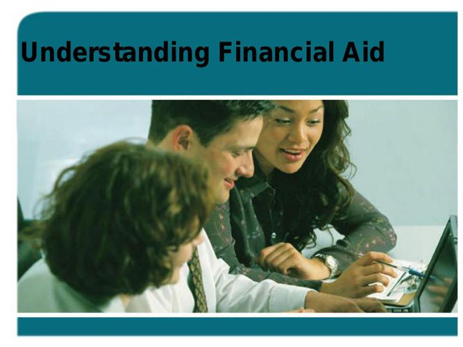 Understanding Financial Aid 2014