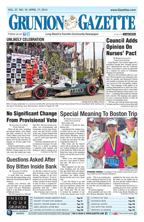 Grunion Gazette 4-17-14