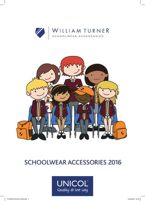 William Turner 2016 Brochure