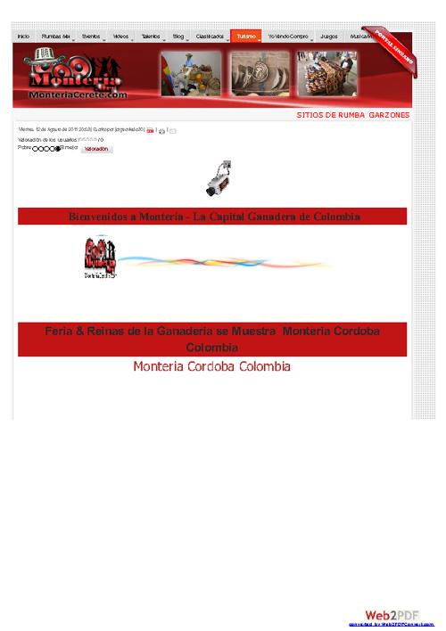 Feria Reinas & Fiestas para recordar  Monteria Cordoba Colombia