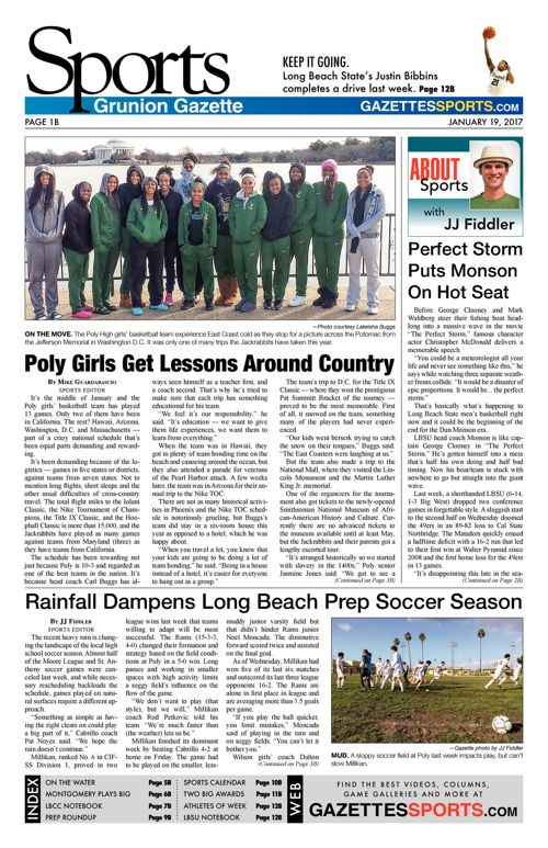Gazette Sports  |  January 19, 2017