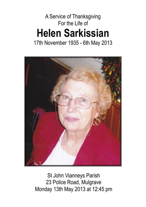 Helen Sakissian