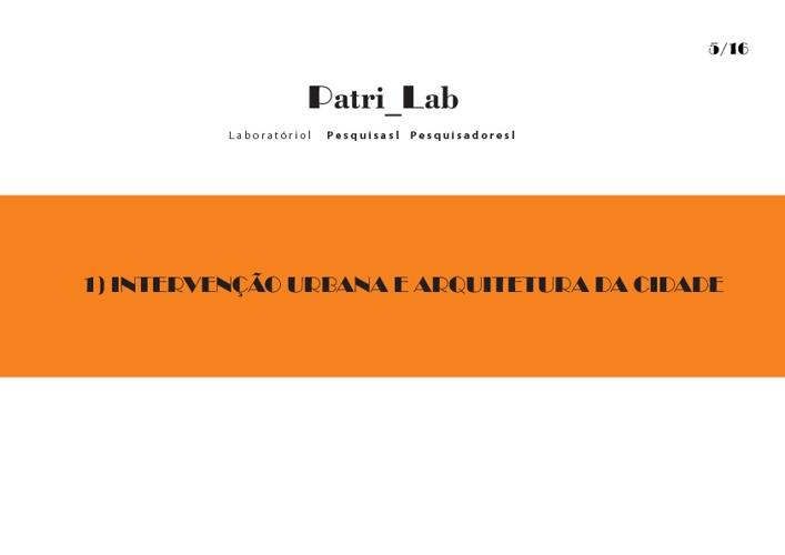 Catálogo Anual Patri_Lab 2011/2012
