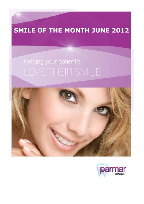 Smile of the Month July