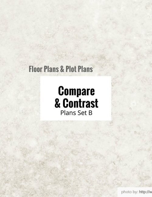 Types of Plans: Compare & Contrast Floor Plan vs. Plot Plan (B)