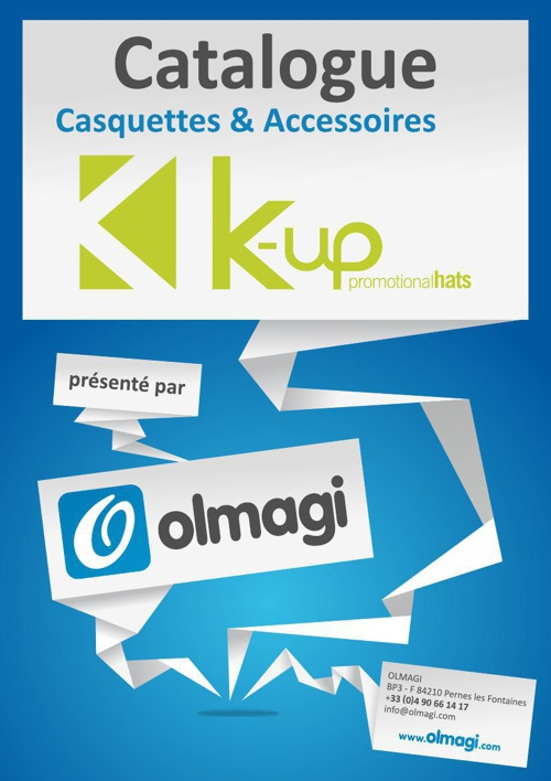 Olmagi - Catalogue K-UP 2014