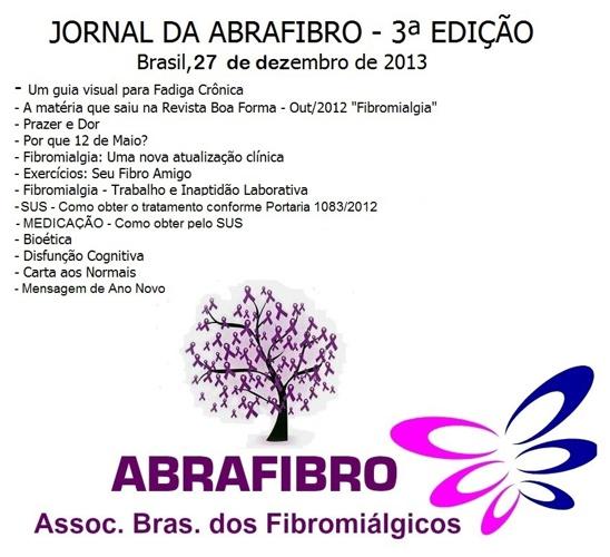 JORNAL DA ABRAFIBRO - 3ª Edição