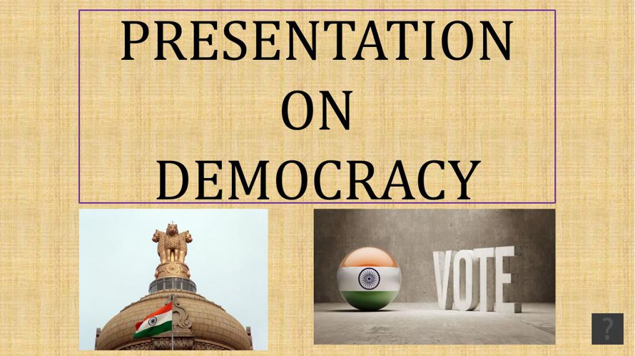 Democracy-Presentation_with_Voice_