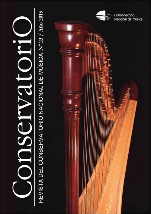 Revista N° 23 - Conservatorio Nacional de Música