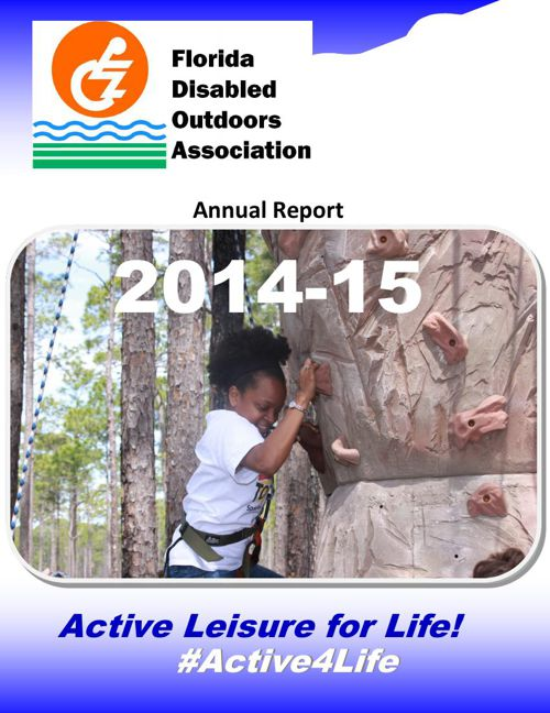 Florida Disabled Outdoors Association Annual Report 2014-15
