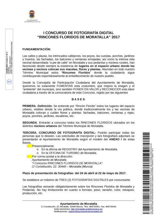 BASES CONCURSO RINCONES FLORIDOS