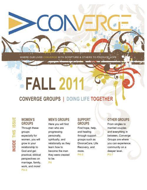 Converge Groups Fall 2011