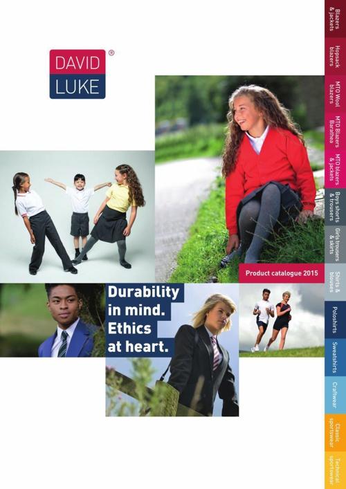 David Luke Product Catalogue 2015