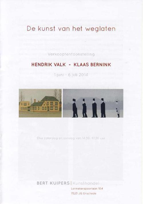 Expositie Hendrik Valk - Klaas Bernink