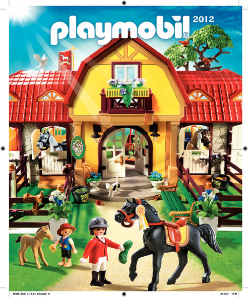 Playmobil Catalogue 2012
