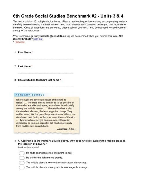 6th Grade Benchmark 2 (1)