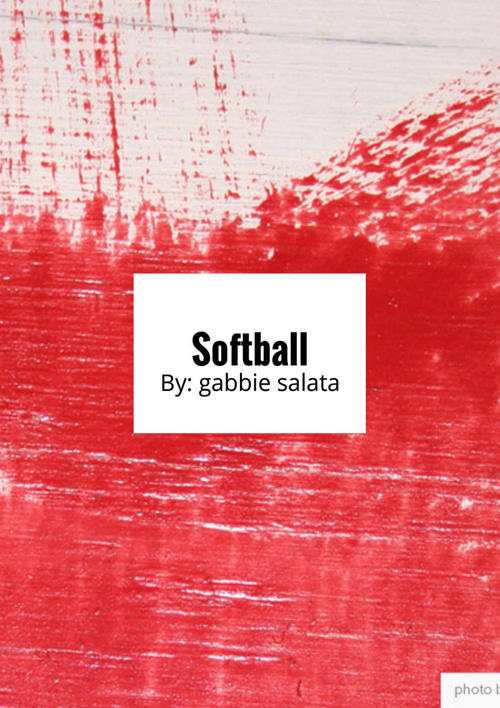 softball connecting to parts of speech