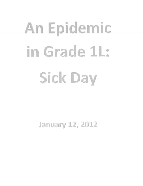 Epidemic in North Den!