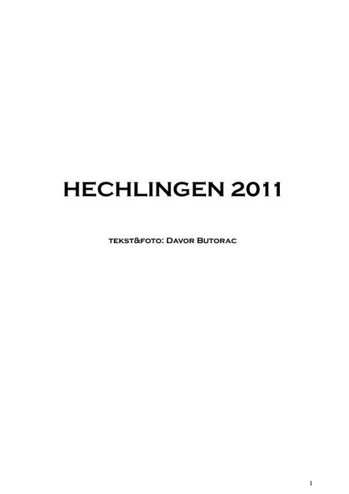 Hechlingen 2011