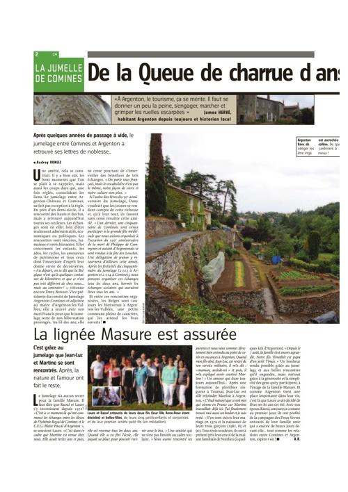 Bulletin municipal pages 30 à 45