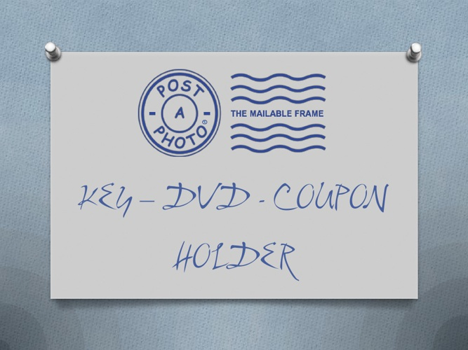 KEY-DVD-COUPON HOLDER