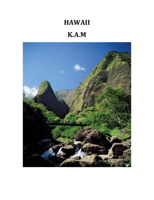 HAWAII-KAM