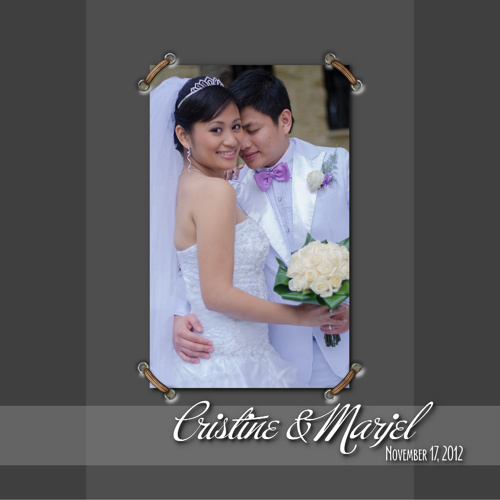 Cristine + Marjel 17.11.12 Wedding Album