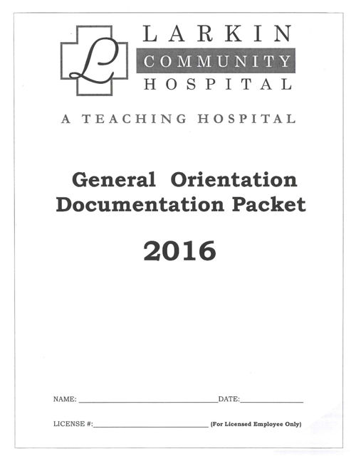Online orientation doc packet 2016