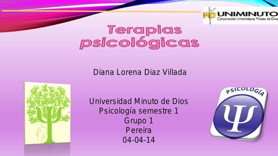 terapias psicologicas