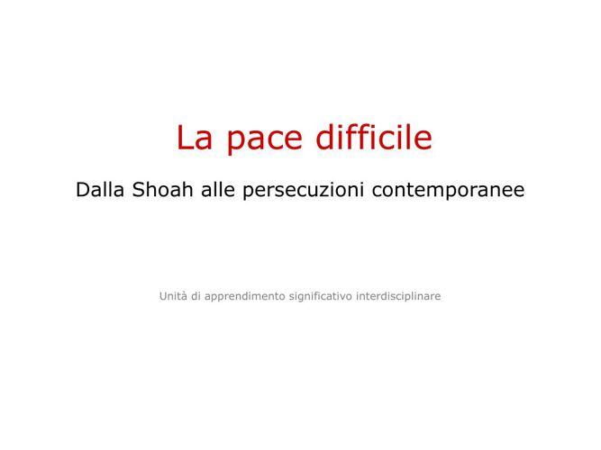 La_pace_difficile