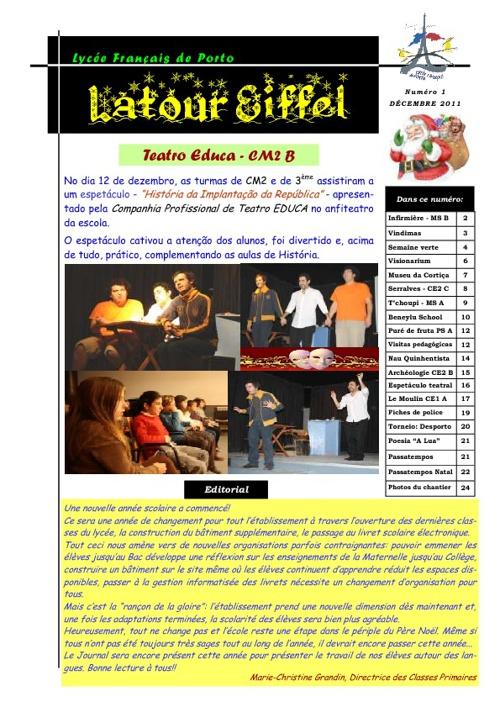Jornal - dezembro de 2011